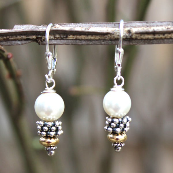 Julie Earrings - Margie Edwards Jewelry Designs