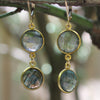 Double Labradorite Earrings - Margie Edwards Jewelry Designs