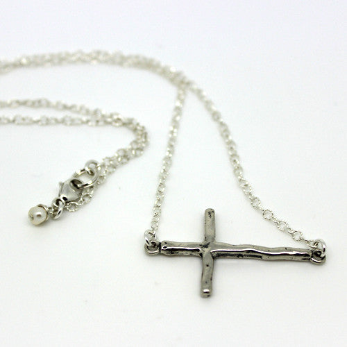Large Sterling Cross