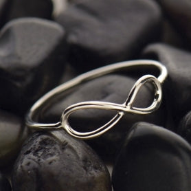 Infinity Rings - Margie Edwards Jewelry Designs