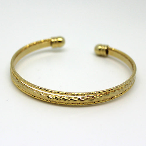 Gold Cuff - Margie Edwards Jewelry Designs