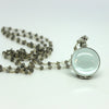Glass Locket Necklaces - Margie Edwards Jewelry Designs
