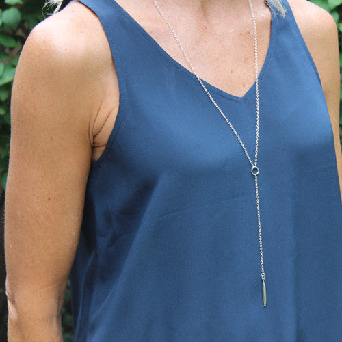 Long Pod Necklace - Margie Edwards Jewelry Designs