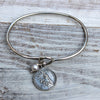 St. Teresa Charm Bracelet - Margie Edwards Jewelry Designs
