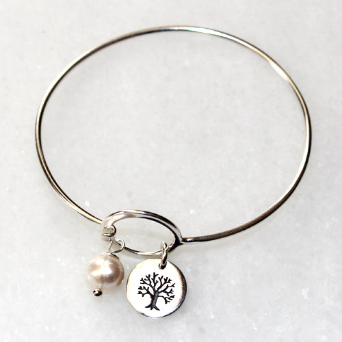 Tree of Life Charm Bracelet - Margie Edwards Jewelry Designs