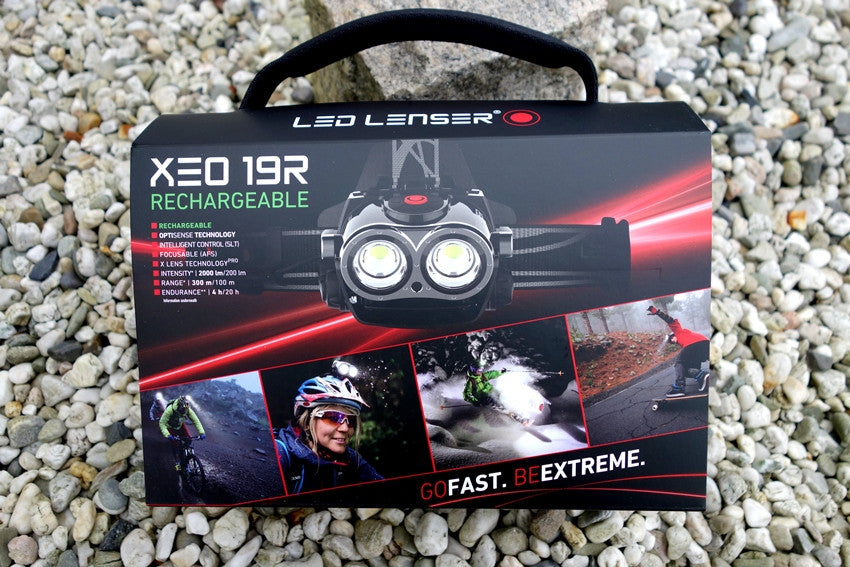 LED Lenser XEO 19R headlamp