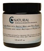 CNatural Arctic Mud, Kaolin, Rice Powder and Collagen Mask 120 ml