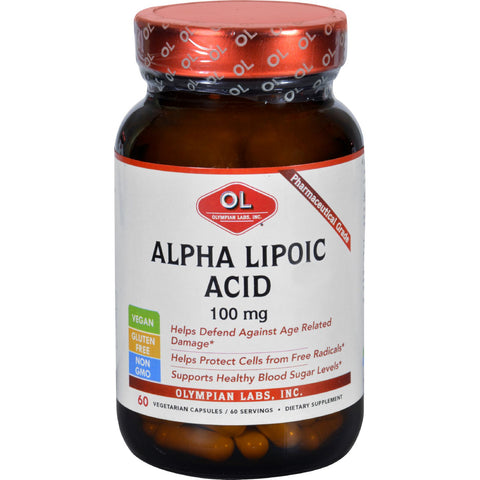 Alpha Lipoic Acid - 100 mg - 60 Vegetarian Capsules
