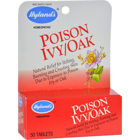 Hyland's Poison Ivy Oak - 50 Tablets
