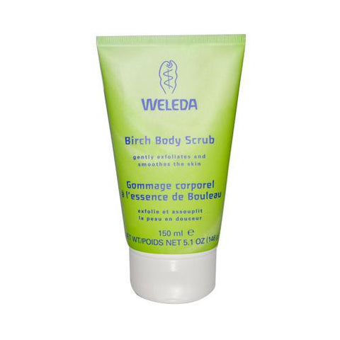 Weleda Birch Body Scrub - 5.1 Fl Oz