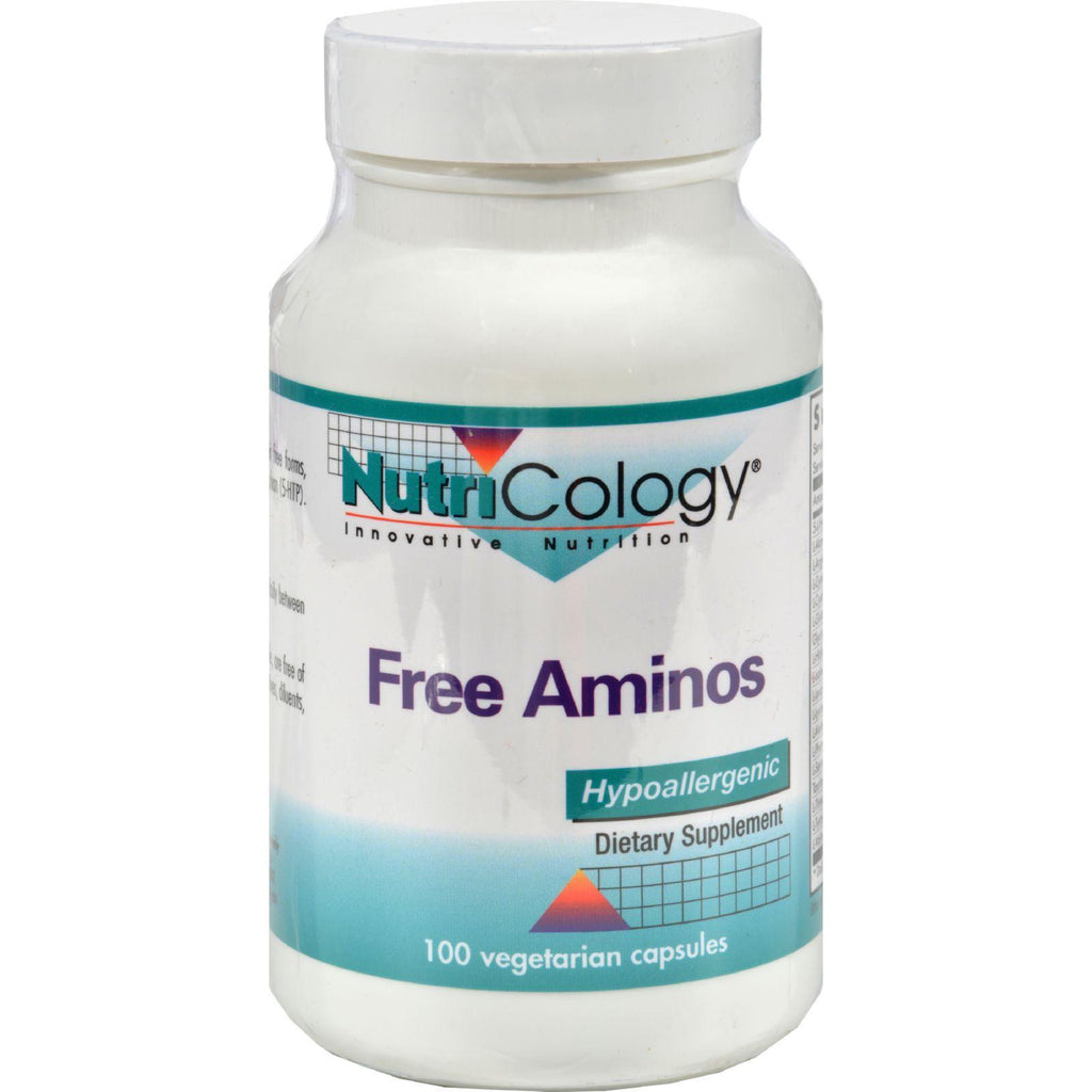 Nutricology Free Aminos - 100 Capsules