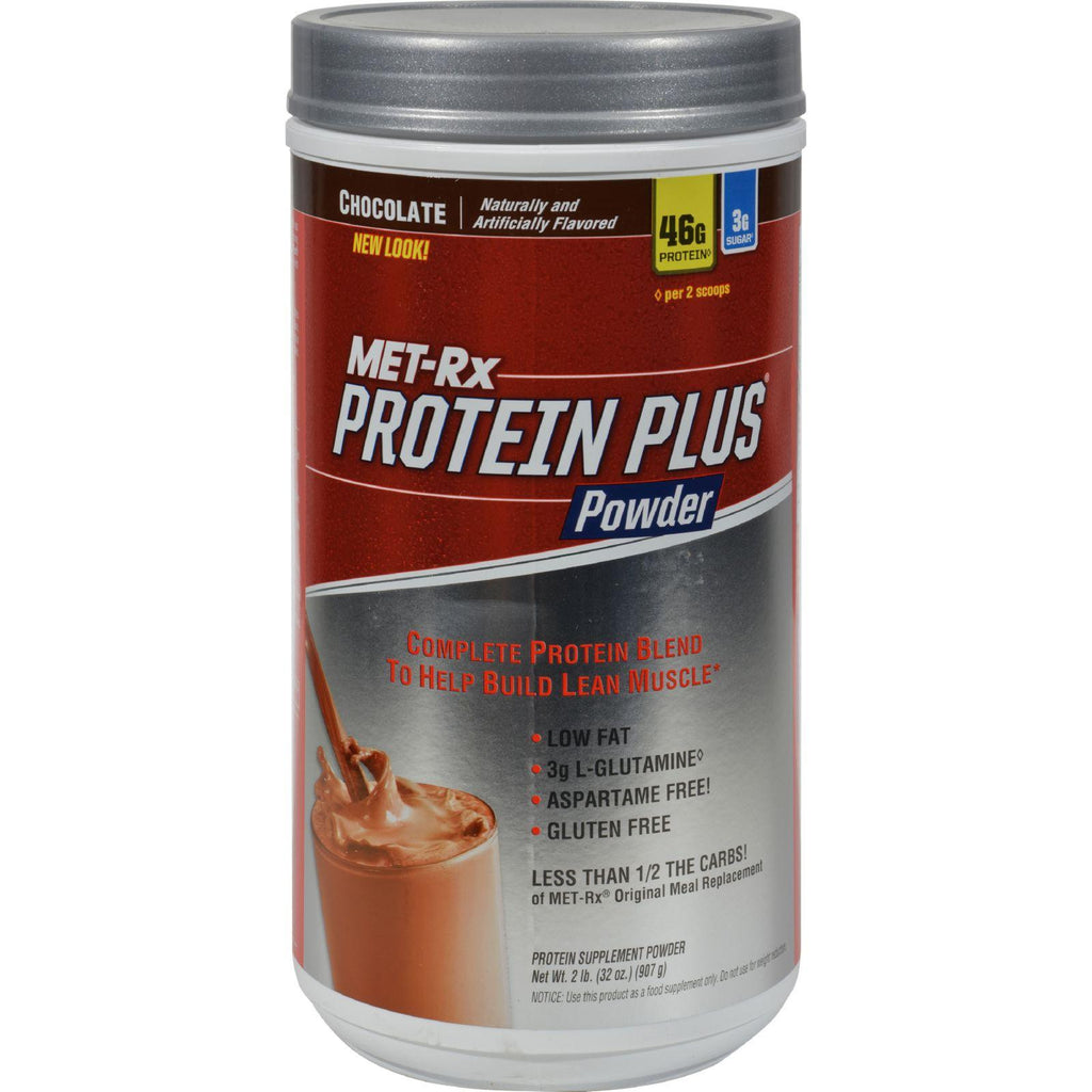 Met-rx Protein Plus Powder Chocolate - 2 Lbs