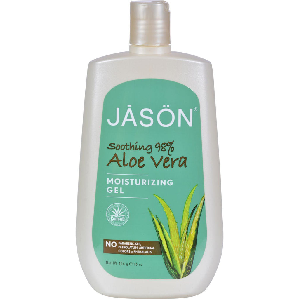 Jason Moisturizing Gel Aloe Vera 98% - 16 Oz