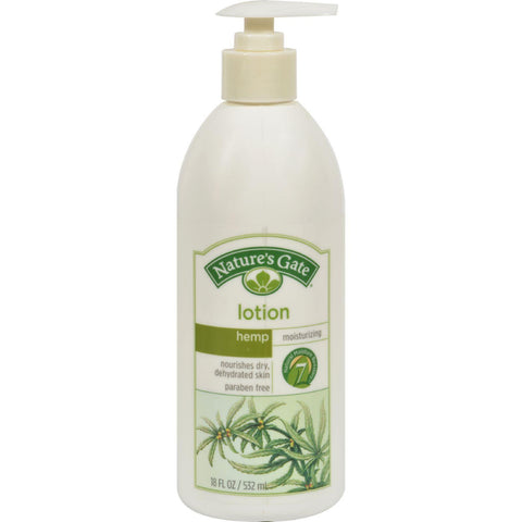 Nature's Gate Hemp Moisturizing Lotion - 18 Fl Oz