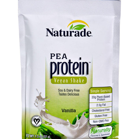 Naturade Pea Protein Packet - Case Of 12 - 1.3 Oz