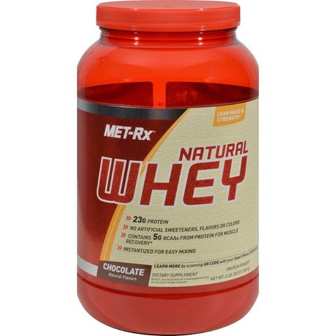 Met-rx Instantized Natural Whey Protein Chocolate - 2 Lbs