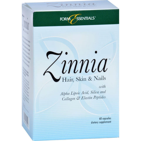 Zinnia Hair Skin And Nails - 60 Capsules