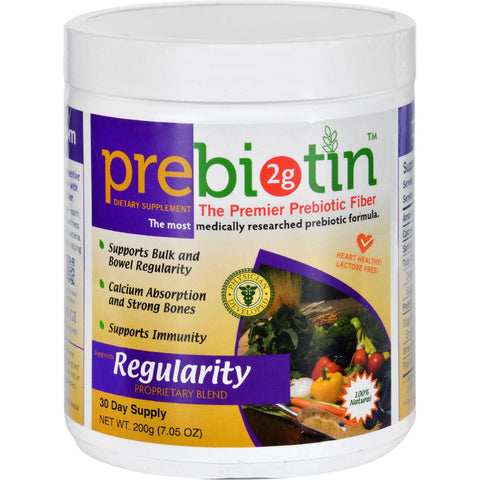 Prebiotin Prebiotic Fiber - Regularity - 7.05 Oz