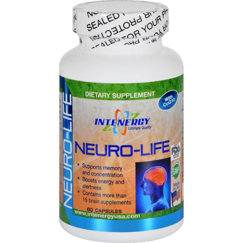 Intenergy Neuro-life - With Coq10 - 60 Capsules