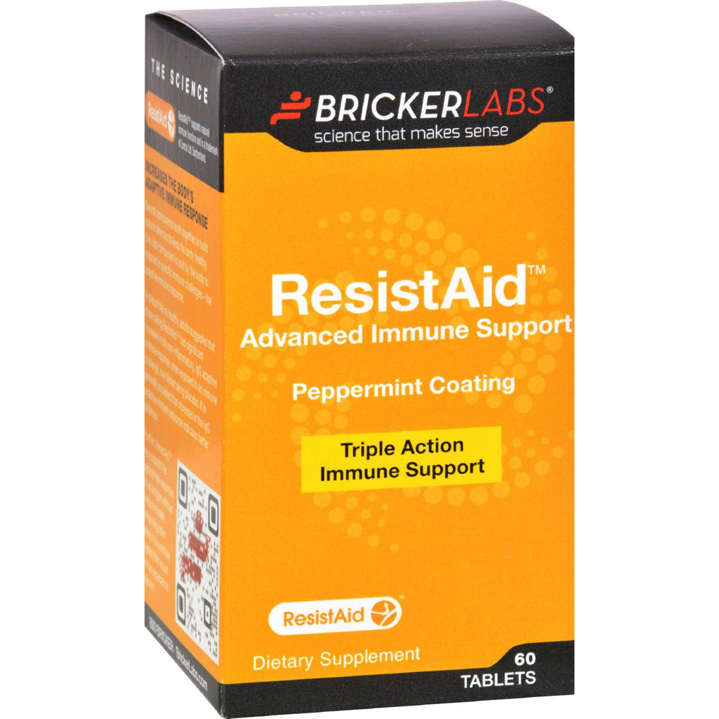 Bricker Labs Resistaid - 60 Tablets