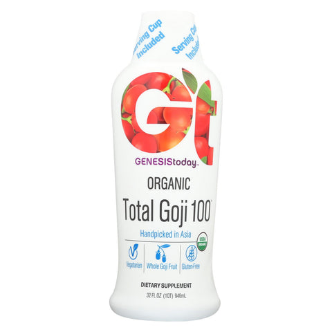 Genesis Today Organic Total Goji - Case Of 1 - 32 Fl Oz.