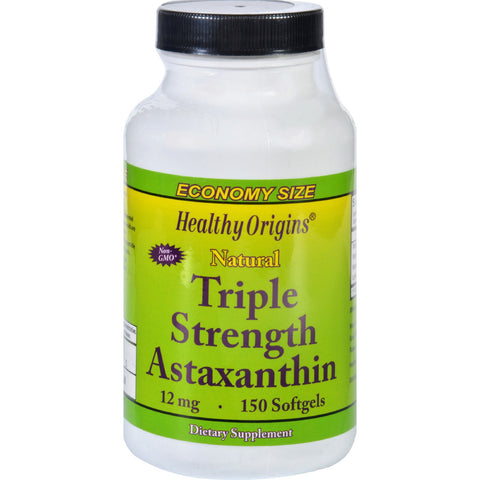 Astaxanthin - Natural - Triple Strength - 12 mg