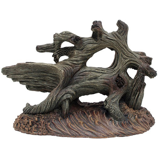 Marina® Grey Driftwood on Sandy Base (Medium) - Critter Country Supply Ltd.