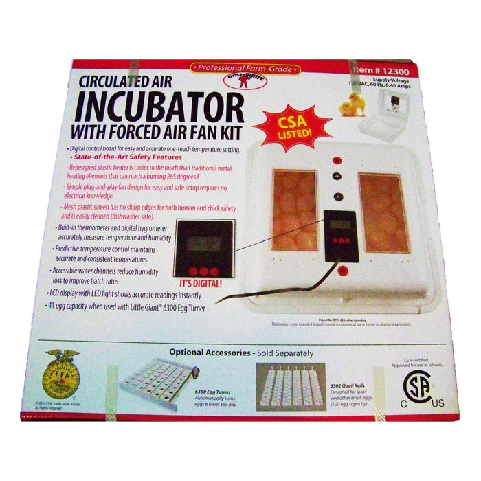 Little Giant® 12300 Circulated Air Incubator - Critter Country Supply Ltd.