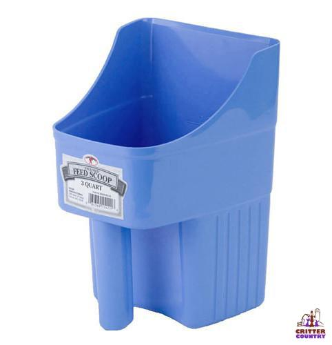 Little Giant® 3 Quart Plastic Enclosed Feed Scoop - Critter Country Supply Ltd.