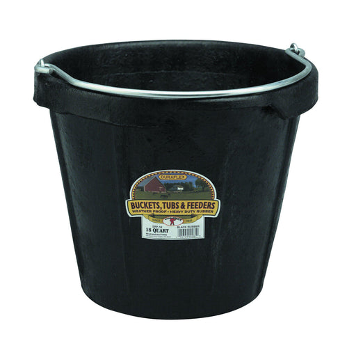 Little Giant® 18 Quart Rubber Pail With Pouring Lip - Critter Country Supply Ltd.
