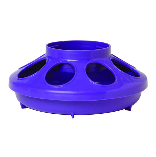 Little Giant® 1 Quart Plastic Poultry Feeder Base