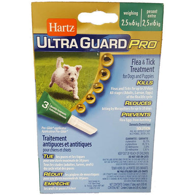 Hartz® UltraGuard Pro® Flea and Tick Treatment for Dogs and Puppies - Critter Country Supply Ltd.