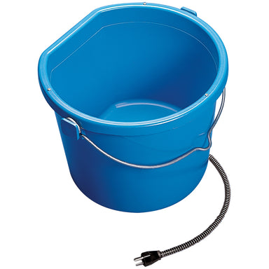 API 20 Quart (5 Gallon) Heated Flat Back Bucket - Critter Country Supply Ltd.