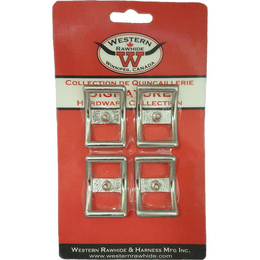 "Western Rawhide Buckles: 3/4"" Chrome Plated Bronze Conway Buckle"