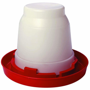 Little Giant® 1 Gallon Plastic Nesting Poultry Waterer Jar - Critter Country Supply Ltd.