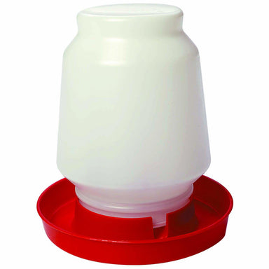 Little Giant® 1 Gallon Screw-On Plastic Poultry Waterer Jar - Critter Country Supply Ltd.