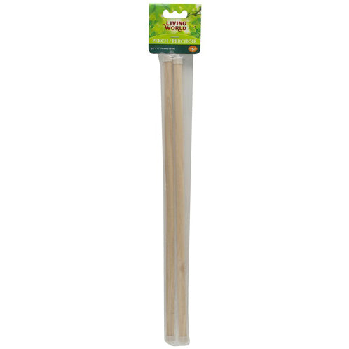 Living World® Wooden Perches 2PK - Critter Country Supply Ltd.