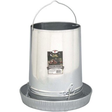 Little Giant® 30 Pound Hanging Metal Poultry Feeder - Critter Country Supply Ltd.