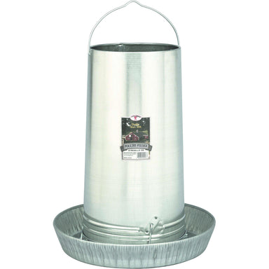 Little Giant® 40 Pound Hanging Metal Poultry Feeder - Critter Country Supply Ltd.