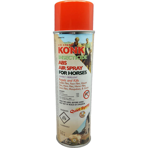 Air Guard® KONK® Insecticide ABS Air Spray For Horses 325g