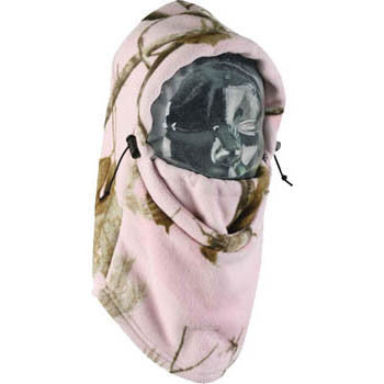 REALTREE™ AP PINK Camo Ladies Fleece Balaclava - Critter Country Supply Ltd.
