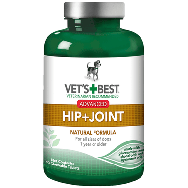 Vet's Best® Advanced Hip + Joint, 90 Tablets - Critter Country Supply Ltd.