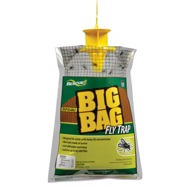 Rescue!® Big Bag Fly Trap - Critter Country Supply Ltd.