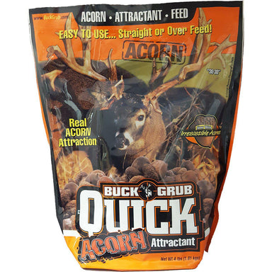Buck Grub Quick ACORN Attractant 4lb - Critter Country Supply Ltd.