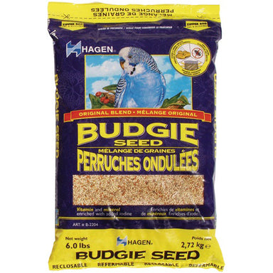 Hagen® Original Blend Budgie Seed 2.72 kg (6 lbs) - Critter Country Supply Ltd.