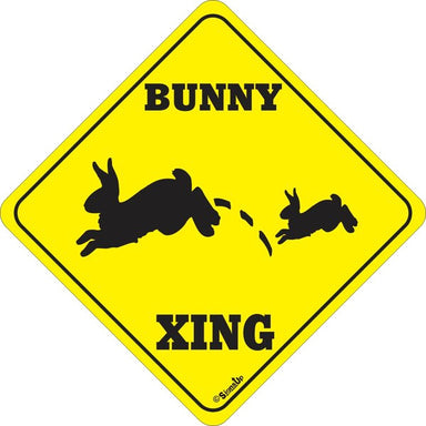 Xing Sign - Bunny - Critter Country Supply Ltd.