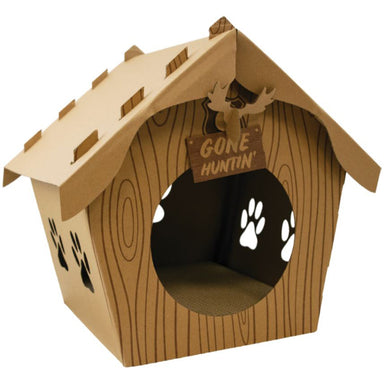 Companion Gear™ Log Cabin Cat Scratcher - Critter Country Supply Ltd.