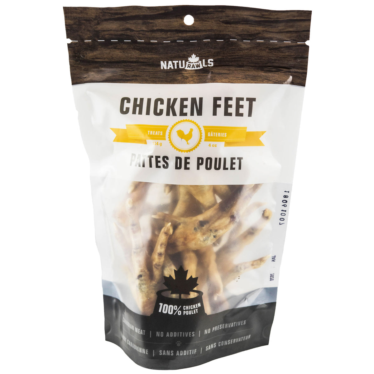 Naturawls Dehydrated Chicken Feet