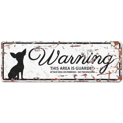 Dog Warning Sign - Critter Country Supply Ltd.