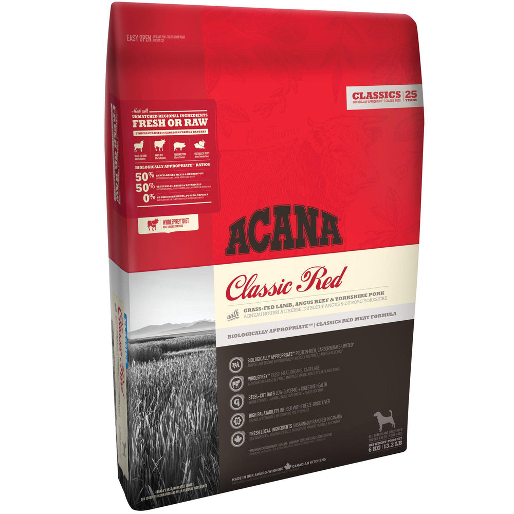 ACANA® CLASSICS Classic Red - Critter Country Supply Ltd.